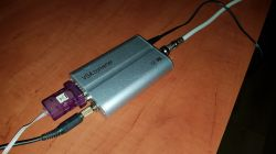 Tuner AM/FM TEF6686 sterowany z komputera.