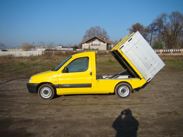 Przer�bka Vana na pickup rejestracja