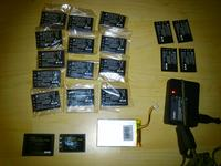 [Sprzedam] Baterie Li-ion Casio NP-20 14szt + gratis.