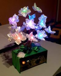 Elektroniczne drzewko szczęścia