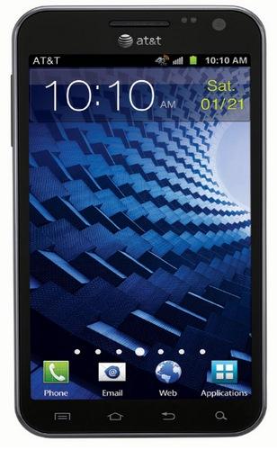 Smartfon Samsung Galaxy S II Skyrocket z ekranem HD 720p i nagrywaniem HD 1080p