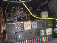 Seat Inca 1,9 SDi - Odpala po chwili miga kontrolka świec, gasnie