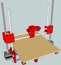 DIY drukarka 3d - THE Printrbot