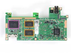 Nexus 7 2013 wifi - płyta główna, prawdopodobne zwarcie na obwodzie zasilania