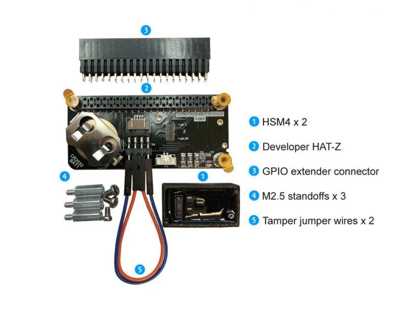 Moduły bezpieczeństwa Zymbit HSM4 dla Linuxa na Raspberry Pi, Jetson Nano