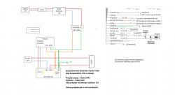 Podłączenie domofonu Somfy V300 z szyfratorem i przyciskiem wyjścia VIDOS