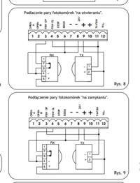 faac 740 - podpinanie fotokom�rek