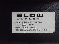 Kolumna aktywna BLOW RBW 152 - dodatkowe gniazdo na kol. pasywną
