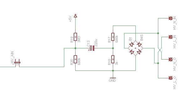 Pomiar sieci energetycznej 230V Atmega32 i komunikacja przez FTDI