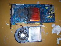 AGP Asus V9999LE GeForce 6800LE 128MB 256-bit wymiana ch�odzenia