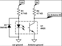 Zliczanie impulsów z licznika kWh