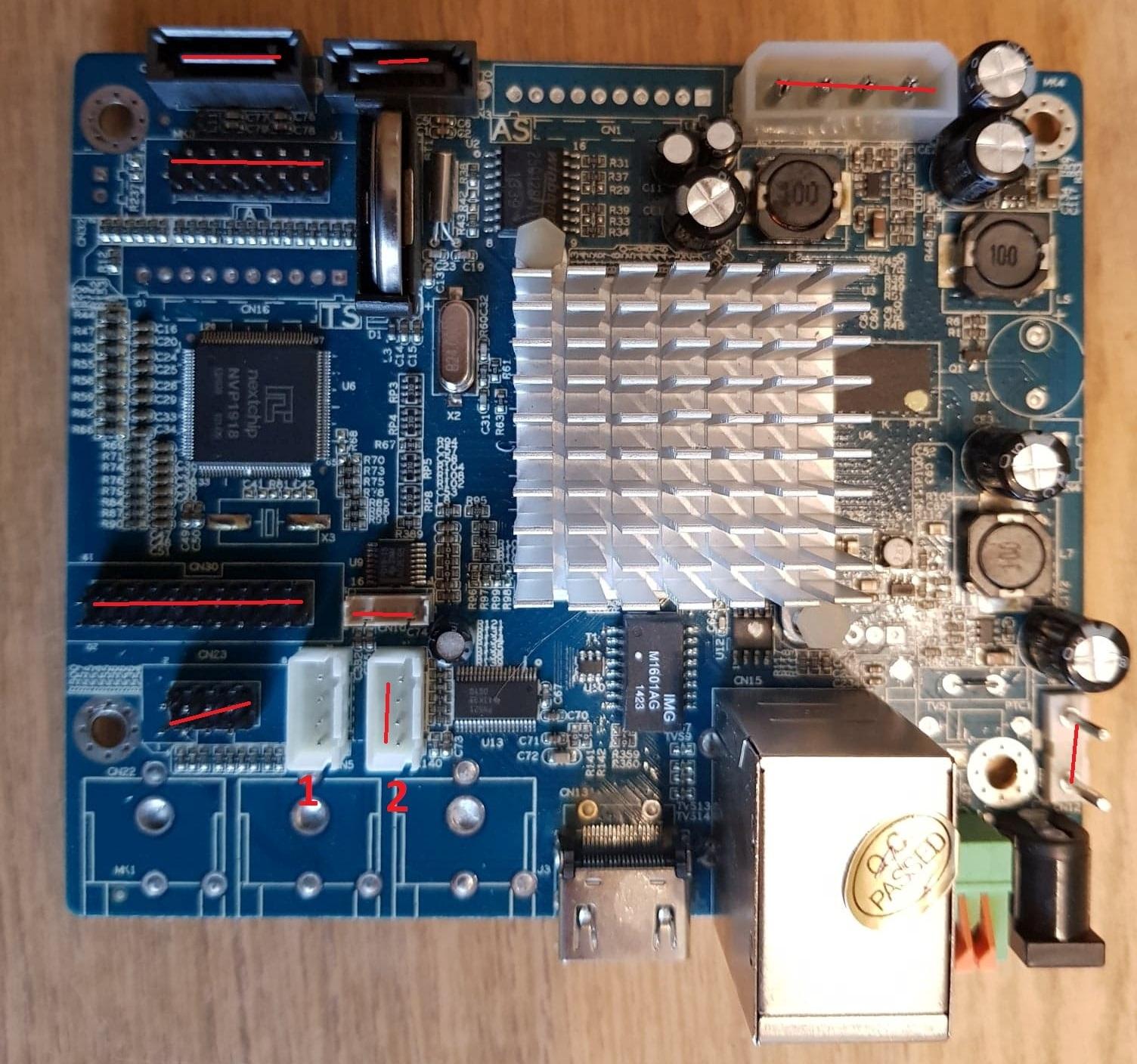 Rozwiązano] DNR 2008 - odzysk firmware, dostęp do UART/U-BOOT