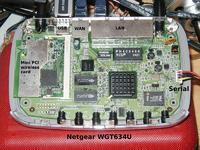 NETGEAR WGT634U - firmware lub OpenWRT