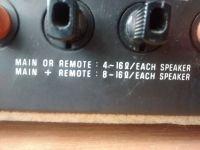 Technics SA-400 Mostkowanie niższej impedencji, jakie temperatury
