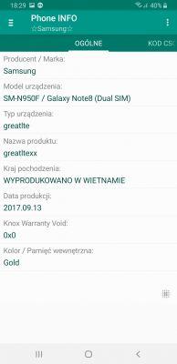 Samsung note 8 nie dziala gpay jak wgrac stock rom