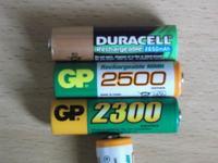 �adowanie r�nych akumulator�w NiMH AA/AAA r�nymi �adowarkami