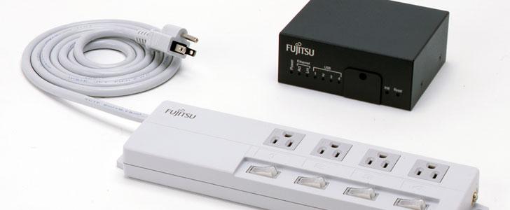 Listwa zasilaj�ca z miernikiem zu�ycia energii od Fujitsu