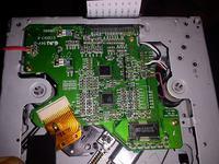 Radio typu medion z układem SA9259 - wysuwa płyte