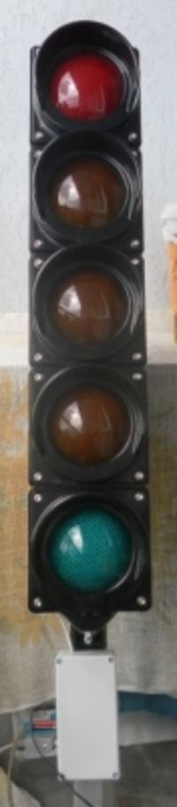 Sygnalizator świetlny/ choinka startowa