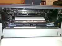 Samsung ml-2850nd - Zacinanie papieru w duplexie