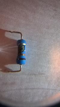 Zasilacz HP 8500, 0957-2262 - Spalony rezystor SMD