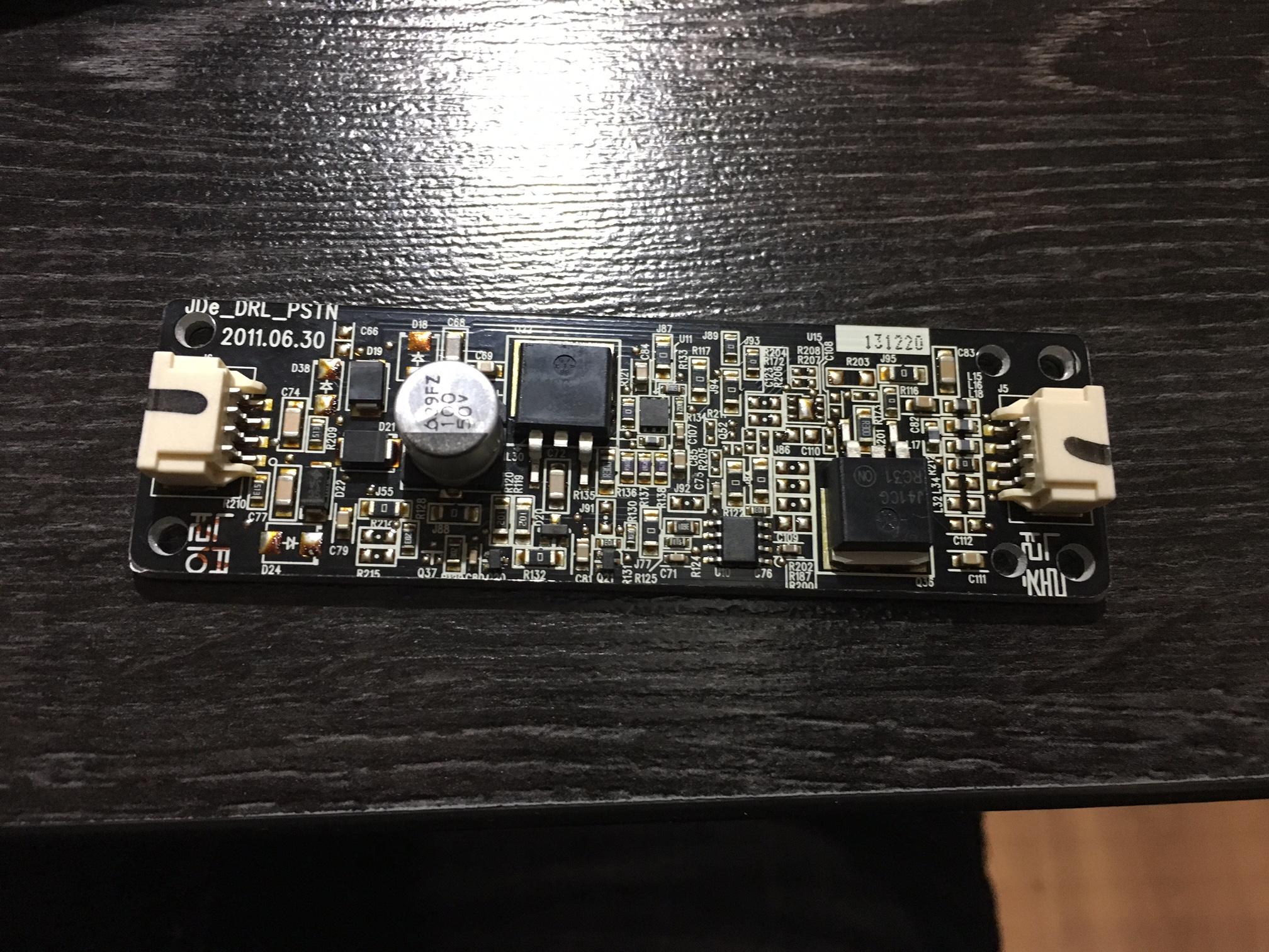 Kia Ceed Led Does Not Work Burnt Inverter