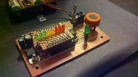 Alkomat ze wskaźnikiem LED oparty na mikrokontrolerze Atmega328 oraz MQ-3