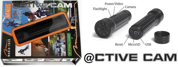 @CTIVE CAM  MT4035 - Kamera ( latarka) obraz - dziwna po�wiata