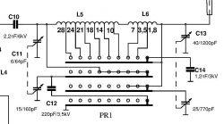 Kondensator strojeniowy-powietrzny na kolanie.