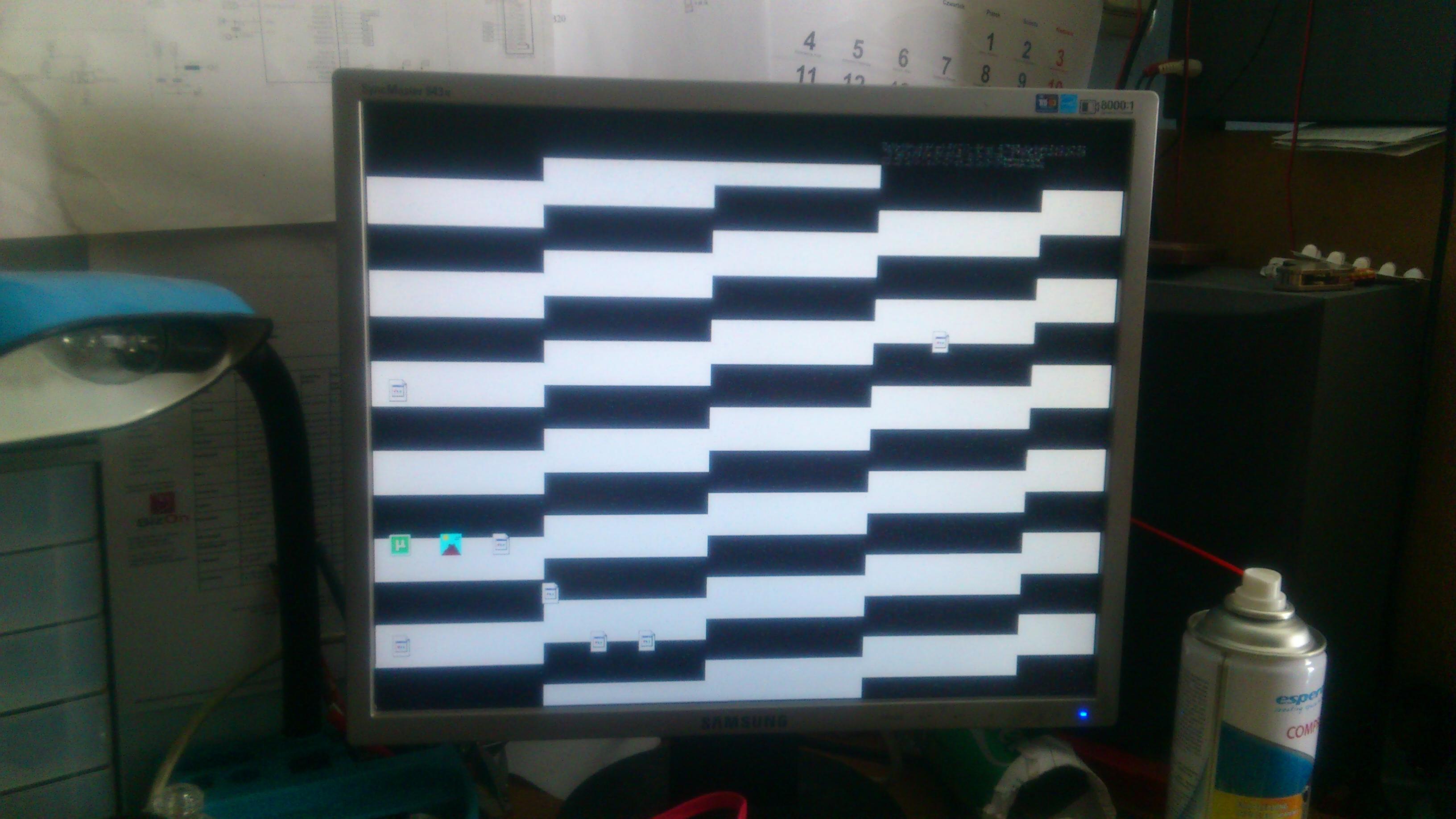 Asus p5k u asys c501ps -brak obrazu nawet po wymianie p�yty