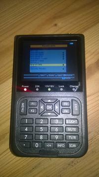 [Sprzedam] NOWA CENA! Cyfrowy miernik Satelitarny Linbox- SF-100. USB, LCD