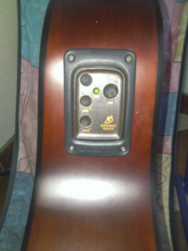 Gitara akustyczna + przetwornik piezo