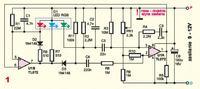 Ładowanie kondensatora poprzez fotodiodę