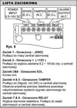 Satel CA-4v1 prośba o dorysowanie schematu
