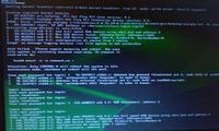 Błąd przy ładowaniu się Linuxa