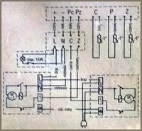 POLAR CZ-2352 schemat zasilacza