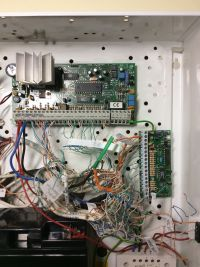Martwa Klawiatura PC5500 centrali DSC 5010