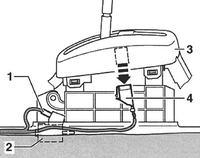 Passat B5(3B) 2.5 TDI V6 150KM - Tiptronic 17090 Transmission Range Sensor(f125)