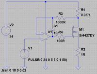 Regulowane ograniczenie prądowe - weryfikacja schematu
