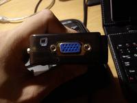 Monitor PC (D-SUB) + KVM + KONWERTER HDMI do VGA DSUB + DEKODER DVB-T