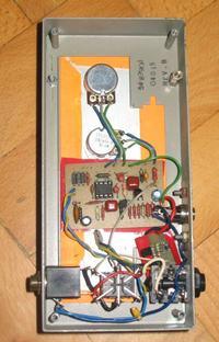 Booster oparty o TS9 do dopalania kanału przesterowanego wzmacniacza lampowego