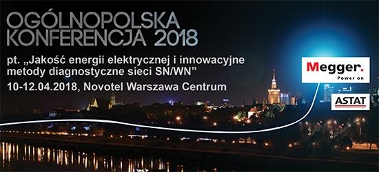 [10-12.04.2018] Warszawa - Ogólnopolska Konferencja Jakość Energii Elektrycznej
