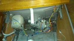 Bosch Zmywarka SMV53L50EU/34 - Problem z odprowadzeniem wody błąd E-24