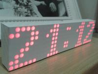 "WiFi clock ""Leon"" by vayo"
