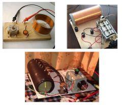 Nawijanie cewki do radia detektorowego.