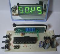 Atmega + Bascom = Clock, czyli zegar ABC