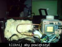 Wytwornica dymu 700W - problem z wydmuchem