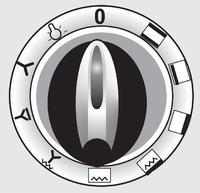 Instrukcja obslugi/symbole pokreteł kuchni Amica C602.89Te