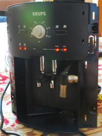 Ekspres Automatyczny Krups Xp 7200 Błąd przy starcie