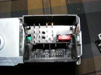Citroen C2 oryginalne radio CD+wyswietlacz zamiast zegarka??